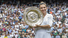 Halep: At least I can be Wimbledon champion...