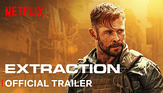 Watch: Chris Hemsworth patrolling Dhaka streets in the trailer of Extraction