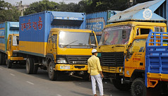 Truck drivers continue to work, risking...