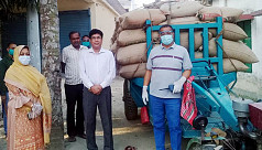 356 sacks of relief rice seized in five...