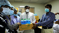CARE Bangladesh distributes protective equipment through local government in Gazipur