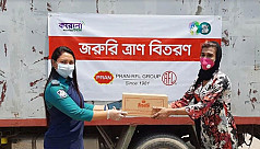 PRAN-RFL distributing food among 40,000...