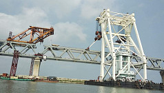 4,200m of Padma Bridge visible after installation of 28th span