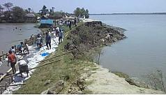 1,500 bighas of land inundated as Kholpetua...
