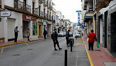 Spain says coronavirus deaths down for 4th day at 637
