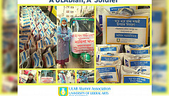 Coronavirus: ULAB Alumni Association delivers aid to the underprivileged