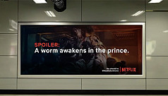 Billboards to spoil your favourite Netflix...