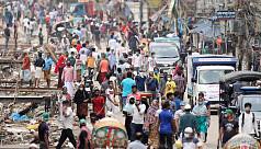 In pictures: Dhaka amid coronavirus...