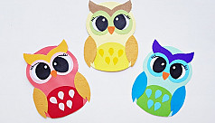 Owl papercraft card