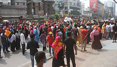 RMG workers stage demo in Dhaka, Chattogram...