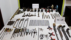 Arms factory busted in Chittagong, 2 held