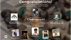 Brac University Chess Club wins 1st online inter-university tournament