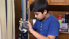 Chanchal's 12-year-old son works behind the camera for Aynabaji series