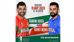 Tamim to meet Kohli on Monday
