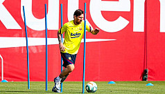 Barca confident Messi can face Mallorca,...