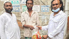 Mohammadpur resident Litu gives food assistance to 131 families