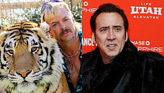Nicolas Cage to star in Tiger King series