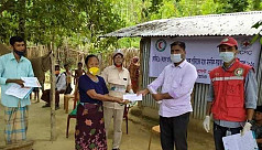 ICRC, BDRCS assist vulnerable communities in CHT during Covid-19 pandemic