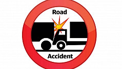 Elderly woman dies in Dhaka road accident