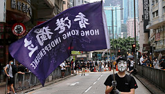 Thousands protest in Hong Kong over China security law proposal