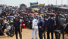 Shimulia-Kathalbari ferries suspended after homeward bound crowd terminal