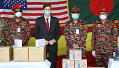 Coronavirus: US envoy provides protective equipment for Bangladesh fire department