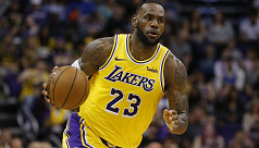 LeBron eager to get back to basketball