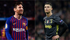 Ronaldo has Messi as number one but snubs CR7 in top five