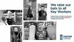England players to honour key workers...
