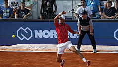 Djokovic beaten as Adria Tour's Montenegro...