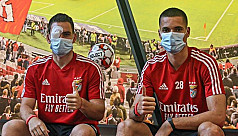 Two Benfica players go to hospital after...