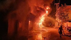 Shops, houses gutted in Bandarban fire