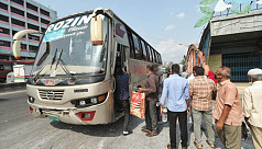 Bus services resume after restriction ends, passenger turn out minimal