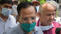 Delhi's local health minister in hospital...