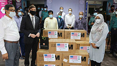 US Embassy provides PPE, masks to Bangladesh Customs