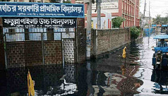 Waterlogging cripples Narayanganj as monsoon begins