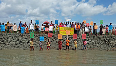 World Environment Day: Children demand action against climate change in Satkhira