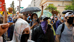 Protests swell in Washington and other...