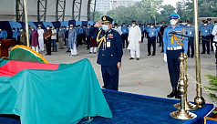 Legendary fighter pilot Saiful Azam laid to rest