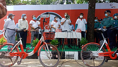 Atiqul: Use bicycle to present beautiful Dhaka to future generation