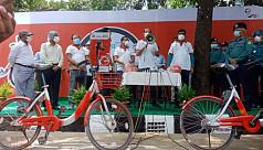 Atiqul: Use bicycle to present beautiful...