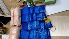 Police SI held with 11,600 yaba pills in Dhaka