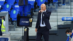 Zidane tests Covid-19 positive