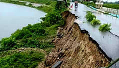 Illegal sand piling leads to collapse of 120-feet stretch of Dhaka-Agartala highway into Titas