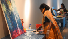Shilpakala arranges art camp with 300...