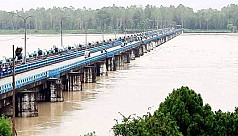 Rivers swell in Ganges basin, flood deteriorates in Brahmaputra basin