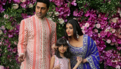 Bollywood star Aishwarya Rai, daughter,...