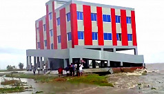 Tk2 crore cyclone shelter on the verge...