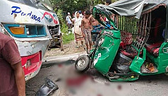 Three killed in Chandpur road crash