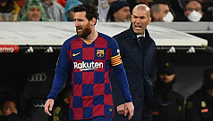 Zidane wants Messi to stay in Spain...